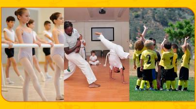 Atividades físicas e os benefícios para as crianças